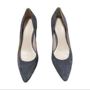 Cole Haan Grand OS Grey Suede Heels (8)